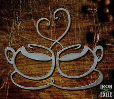 Coffee Cups Tea Mug Metal Kitchen Wall Art Decor Sign Home Hot Java Mocha Latte