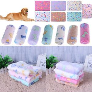 Pet-Dog-Soft-Velvet-Blanket-Mat-Puppy-Cat-Winter-Bed-Padded-Kennel-Cushion-S-M-L