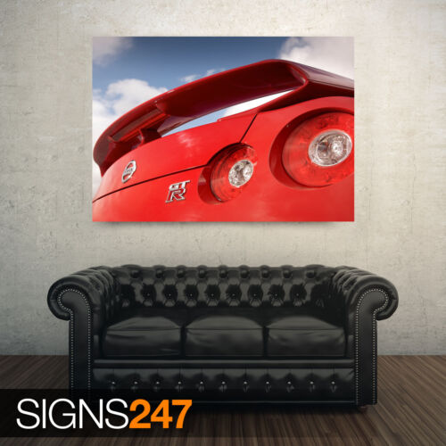 CAR POSTER Photo Picture Poster Print Art A0 to A4 NISSAN GTR R35 AB676