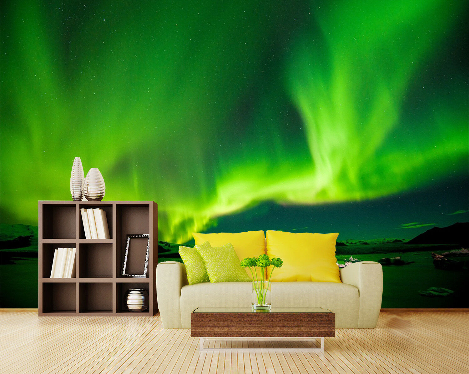 3D Reef Aurora Lake 82 Wallpaper Mural Wall Print Wall Wallpaper Murals US Lemon