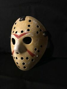 Details About Halloween Mask Friday The 13th Hockey Mask Costume Jason Voorhees Horror