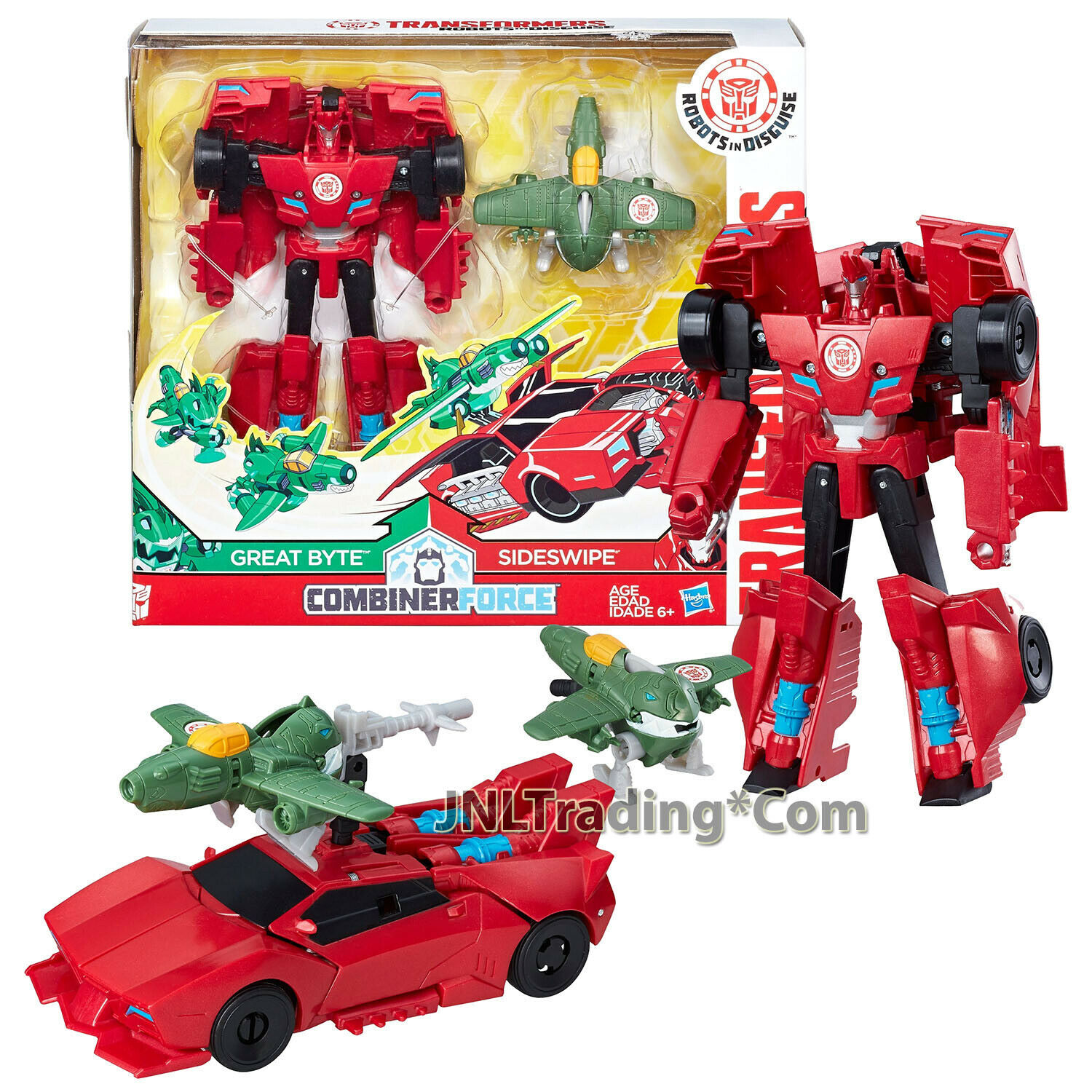 Year 2016 Transformers RID Combiner Force 512 cifra Activator Set SIDESWIPE