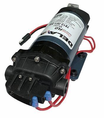 Delavan 7812-201-SB Series Diaphragm Pump 12V Demand Pump W// 3//8 FNPT Ports Demand Pump W// 3//8 FNPT Ports Delavan Ag Pumps Inc. 60 PSI 2.0 GPM
