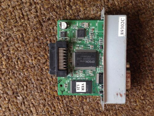 89302C For Epson CONNECT-IT INTERFACE CARD, USB WITH DB-9 SERIAL, UB-U09
