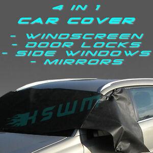 4en1-Car-Cover-Anti-proteccion-contra-las-heladas-para-Parabrisas-Ventanas-Laterales-Espejos