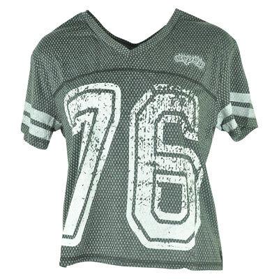 Nett Nba Unk San Antonio Spurs Damen End Zone V-ausschnitt Trikot T-shirt Fanartikel Sport