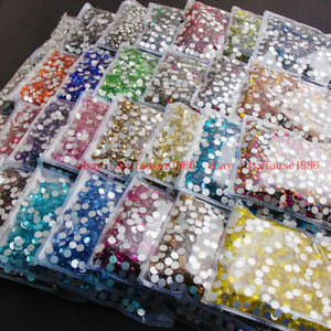 1440pcs-pack-SS20-5mm-Round-Flatback-Crystals-Nail-Art-Rhinestones-Glitter-Gems