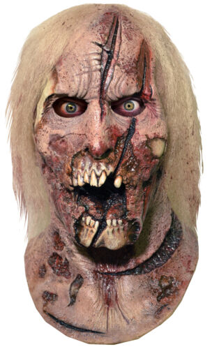 Walking Dead Deer Walker Latex Adult Mask Zombie Movie Show Costume Halloween