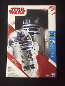VOICE ACTIVATED 2002 STAR WARS HASBRO R2-D2 INTERACTIVE ASTROMECH DROID ROBOT