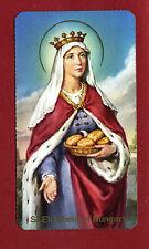 SANTINO SANTA ELISABETTA D'UNGHERIA  IMAGE PIEUSE - HOLY CARD-  Heiligenbild