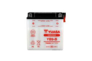 Bateria-YB9-B-12v-9ah-Yuasa-Aprilia-Sportcity-one-50-2t-2008-2012-Sin-acido