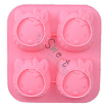 Cute Hello Kitty Mold Cookie Chocolate Jelly Candy Soap Ice Cube Tray Mould Tool