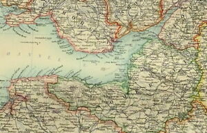 Map Of Southern England And Wales.Details About 1895 Antique Map Southern England Wales London Cornwall Dorset Kent Radnor