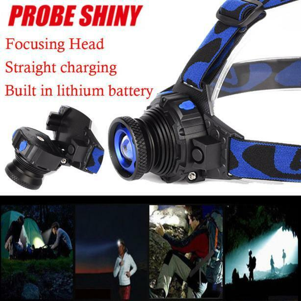 5000 Lumens Q5 Led Waterproof high bright headlights 3 Modes Zoomable torch HOT