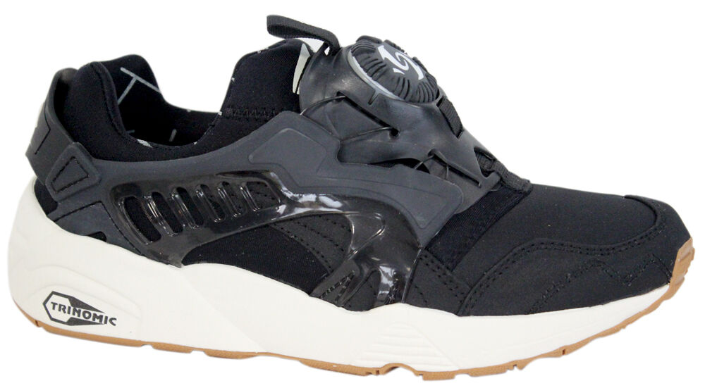 Puma Trinomic Disc Blaze Basic Sports Mens Trainers Shoes Black 357677 02 D95