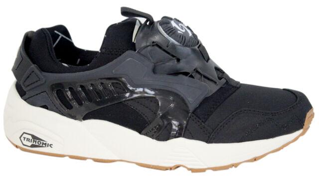 39406f2b ... Puma Trinomic Disc Blaze Basic Sports Mens Trainers Shoes Black 357677  02 D95 ...