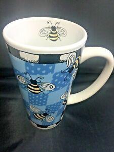 Alicia-Tormey-Designs-BUG-ME-Bee-Latte-Coffee-Mug-Cup-16-oz-by-Signature