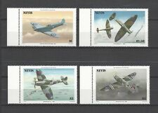 Nevis 1986 Sc#460-3  Spitfire Fighter Plane, 50th Anniv.  MNH Set