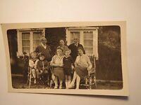 Gruppe Männer Frauen Kinder - Jungen in Uniform - Soldat Matrose - 1928 / Foto