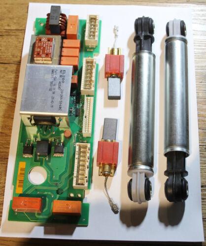 Miele électronique Réparation W 876 désinvolture Paquet FIXATIONS AMORTISSEUR Moteur Charbon!