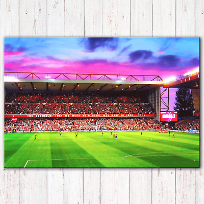 NOTTINGHAM FOREST City Ground NFFC Trent End v WBACanvas Print Photo 5 Sizes