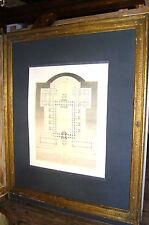 Spiegel Bilderrahmen mirror trumeau Louis XVI Goldrahmen Bild Rahmen Barock Nr.4