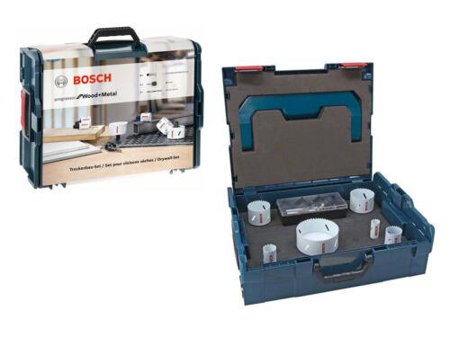 Bosch Professional 2608438155 lochsägen Set Dans L-Boxx 8 pièces bois et métal