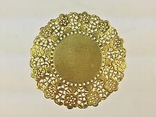 Tortenspitzen gold 100 Stück, 12 cm Tortenpapier Plattenpapier