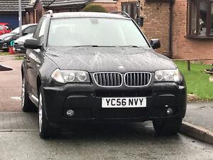 BMW-x3-M-Sport-3-0d-Diesel-2006-4x4-5dr-Perfect-Winter-Car