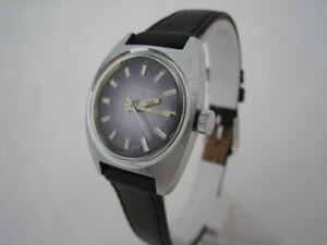 NOS SPECIAL NEW VINTAGE VICTORY SWISS ST STEEL WATCH 60