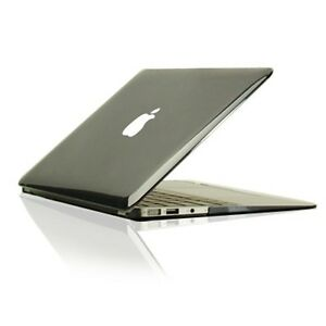 """NEW ARRIVALS! Crystal BLACK Hard Case Cover for Macbook Air 11"""" A1370 and A1465"""