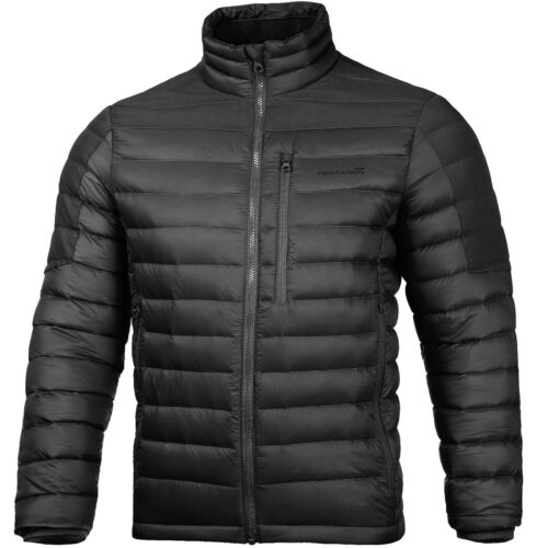 Pentagon Geraki Jacket Mens Nylon Tactical Rain Outdoor Coat Carry Pouch Black