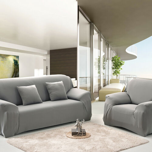 Easy Stretch Couch Sofa Lounge Covers Recliner Dining Chair Cover 1 2 3 4 Seater