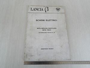 Schema Elettrico Lancia Ypsilon : Manuale schemi elettrici lancia beta restyling e trevi ebay