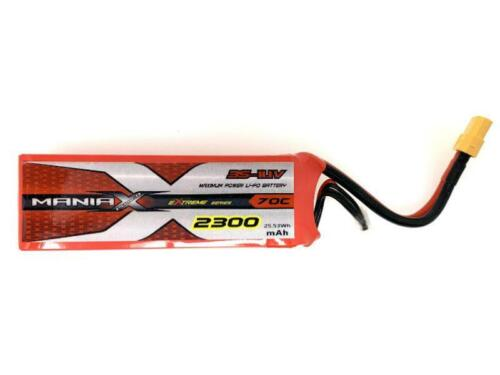 ManiaX 2300mah 11.1V 70C Lipo Battery Pack MX2300-3S-70