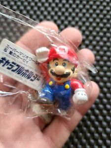 Vintage Nintendo Super Mario World Kirby Adventure metal keychain figures Rare x