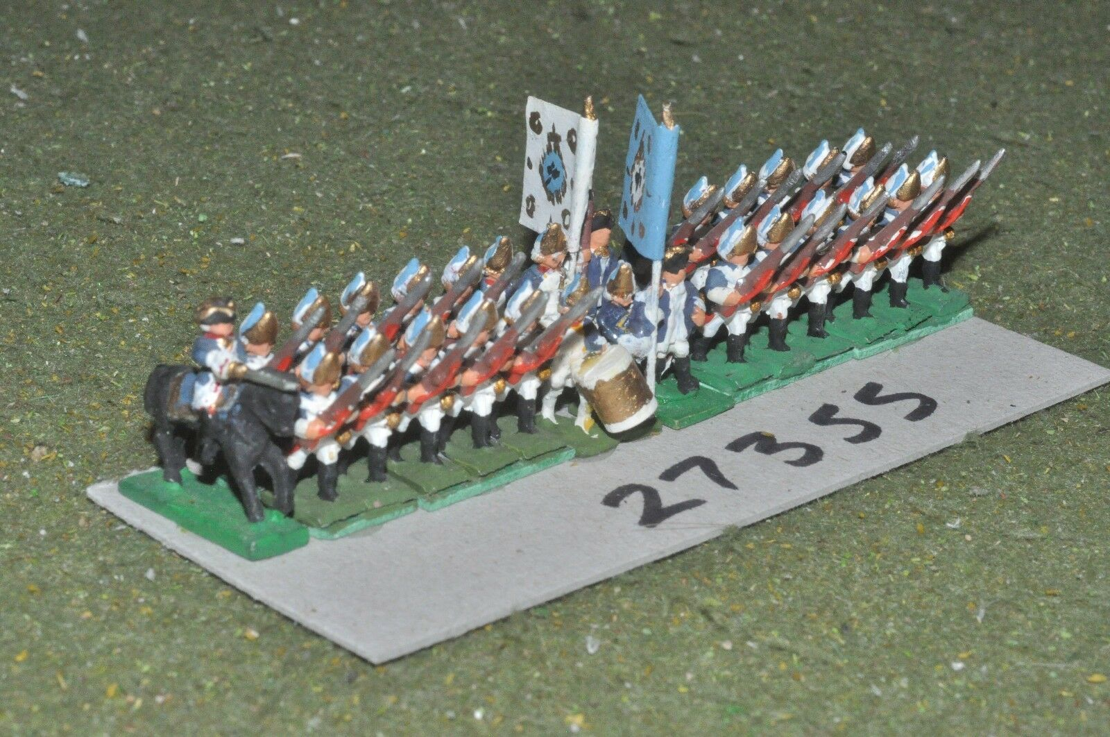 15mm 7YW   prussian - regiment 28 figures - inf (27355)