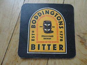 Boddingtons Bitter Beer Mat