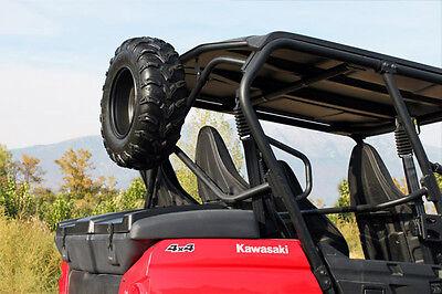Dragonfire Racing ReadyForce Black Spare Tire Carrier Kawasaki Teryx//4