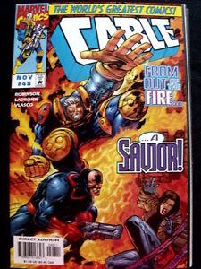 Cable N°48 1997 Ed. Marvel Comics [sa10]