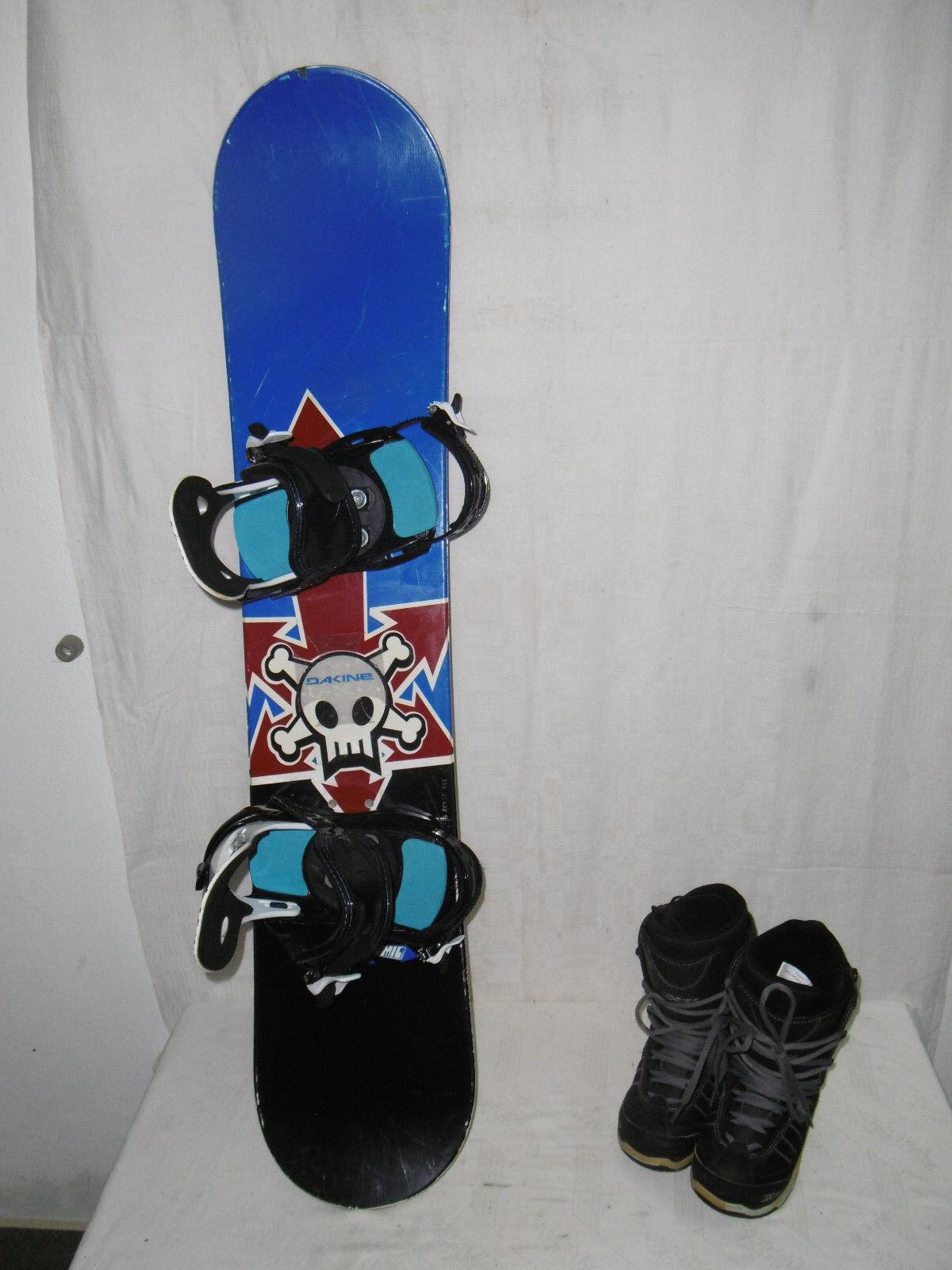 ATOMIC   SKULL   TOP JUNIOR SNOWBOARD SNOWBOARD SNOWBOARD 119 CM + AXCES Stiefel GR.  32 IM SET 0e8a03