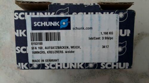 Schunk Weiche Aufsatzbacken 160mm