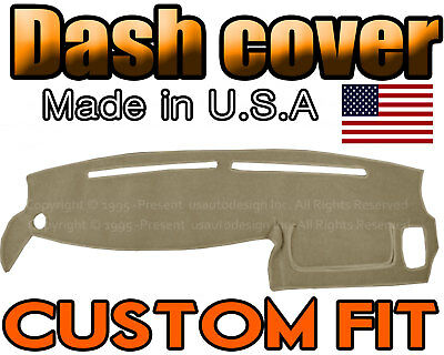 fits 2011-2012   TOYOTA  AVALON  DASH COVER MAT DASHBOARD PAD BEIGE