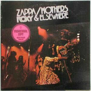 Frank Zappa Roxy Amp Elsewhere Live 1974 Us Promo Double Lp