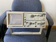 Goldstar 20 Mhz Oscilloscope Model Os 9020a