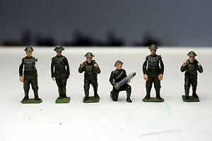 Britains WW I British Artillery Crew Set including Range Finder Operator