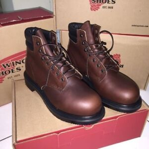 Red-Wing-2245-Safety-Boots-Steel-toe-Made-in-USA-Brand-New-Size-10-EE
