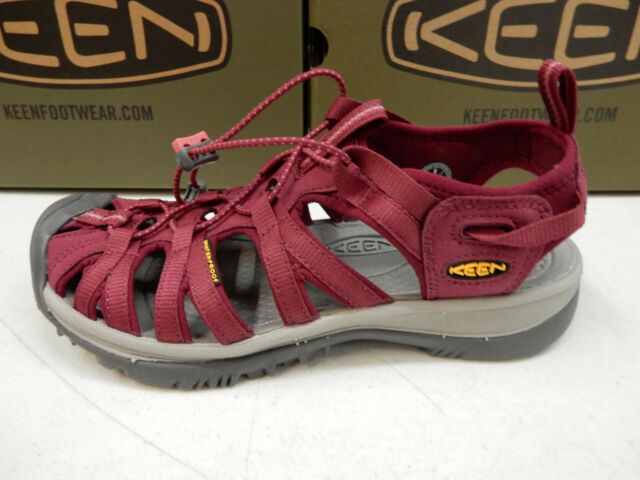 f5c8184ee6be KEEN Whisper Beet Red honeysuckle Womens Sport Sandals Size 6m for ...