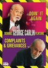 George Carlin: Complaints  Grievances/Doin It Again (DVD, 2014)