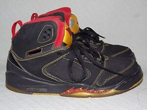 fdf9db43b8 Nike Air Jordan Sixty Plus Atlanta Hawks 365163-071 Black Basketball ...